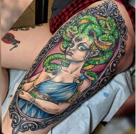Tattoos - Bonnie Seeley Medusa - 141132